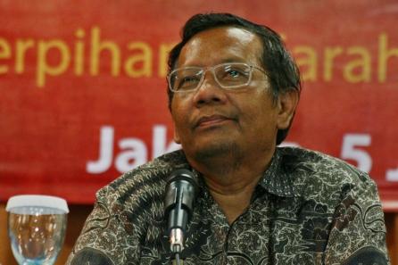 Ketua Mahkamah Konstitusi Machfud MD